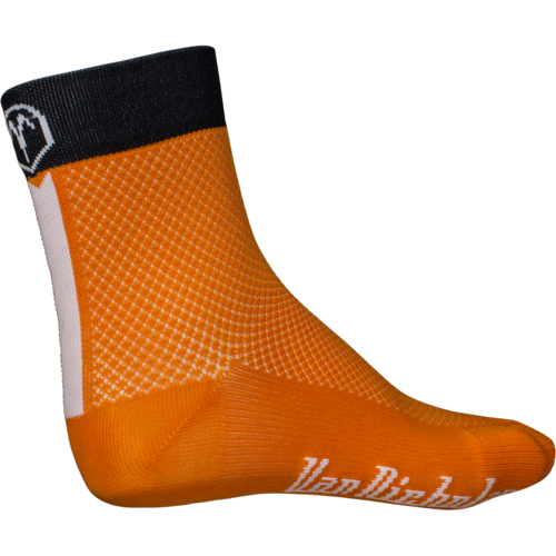 Van Nicholas Socks Orange
