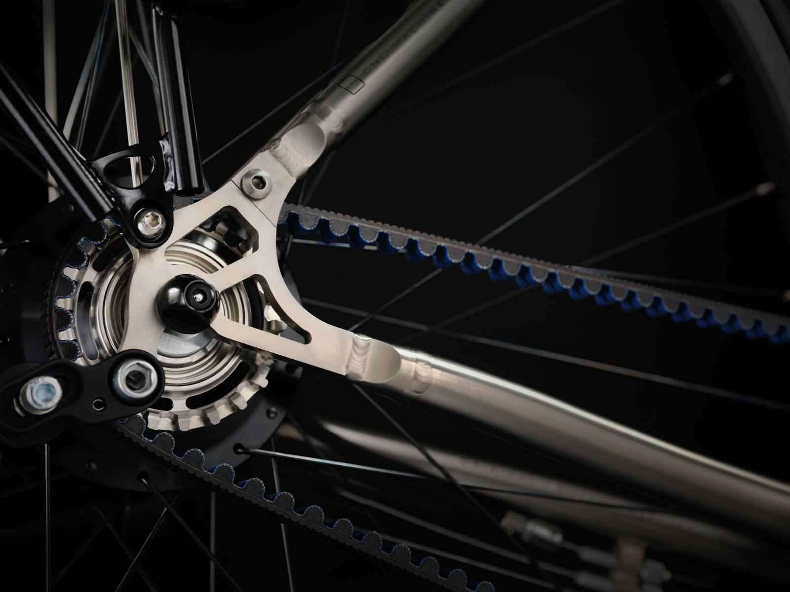 Van Nicholas Amazon Rohloff Titanium CNC Machined Dropout