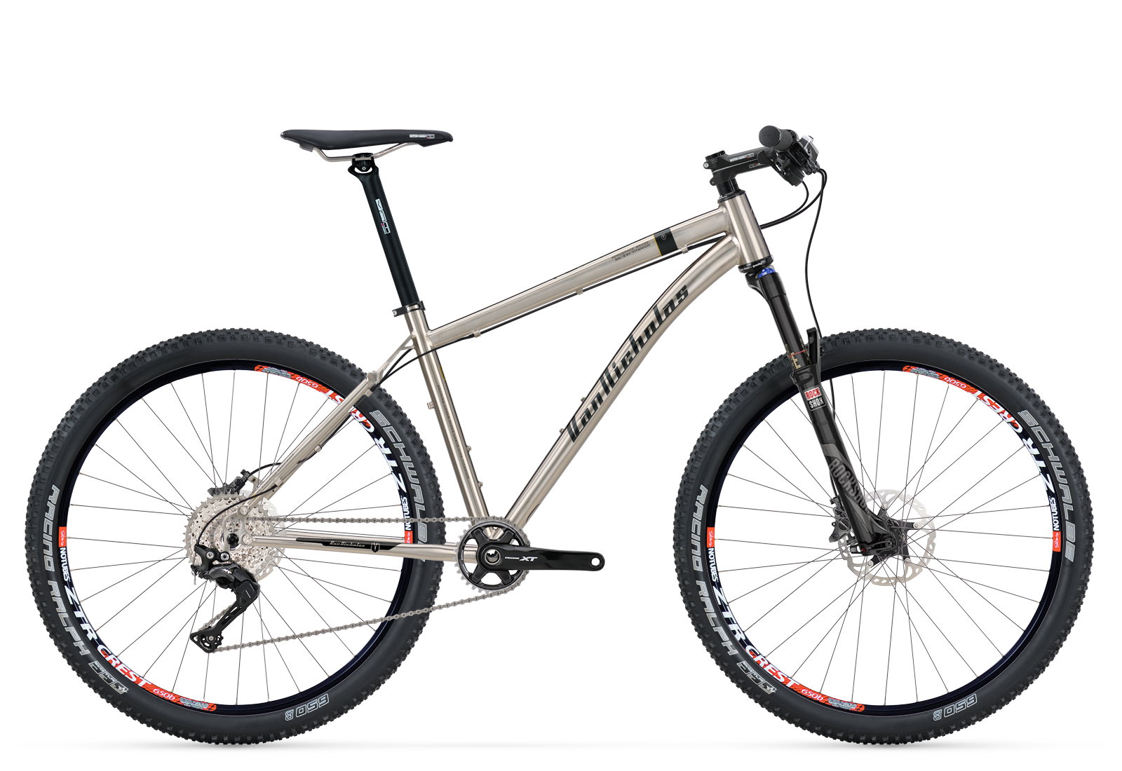 Tuareg 27.5, the titanium mountain bike | Van Nicholas